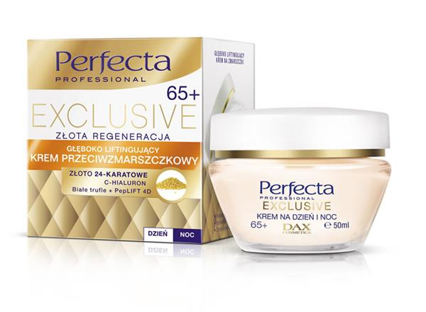 PERFECTA EXCLUSIVE Krem głęboko liftingujący  65+ / 50ml